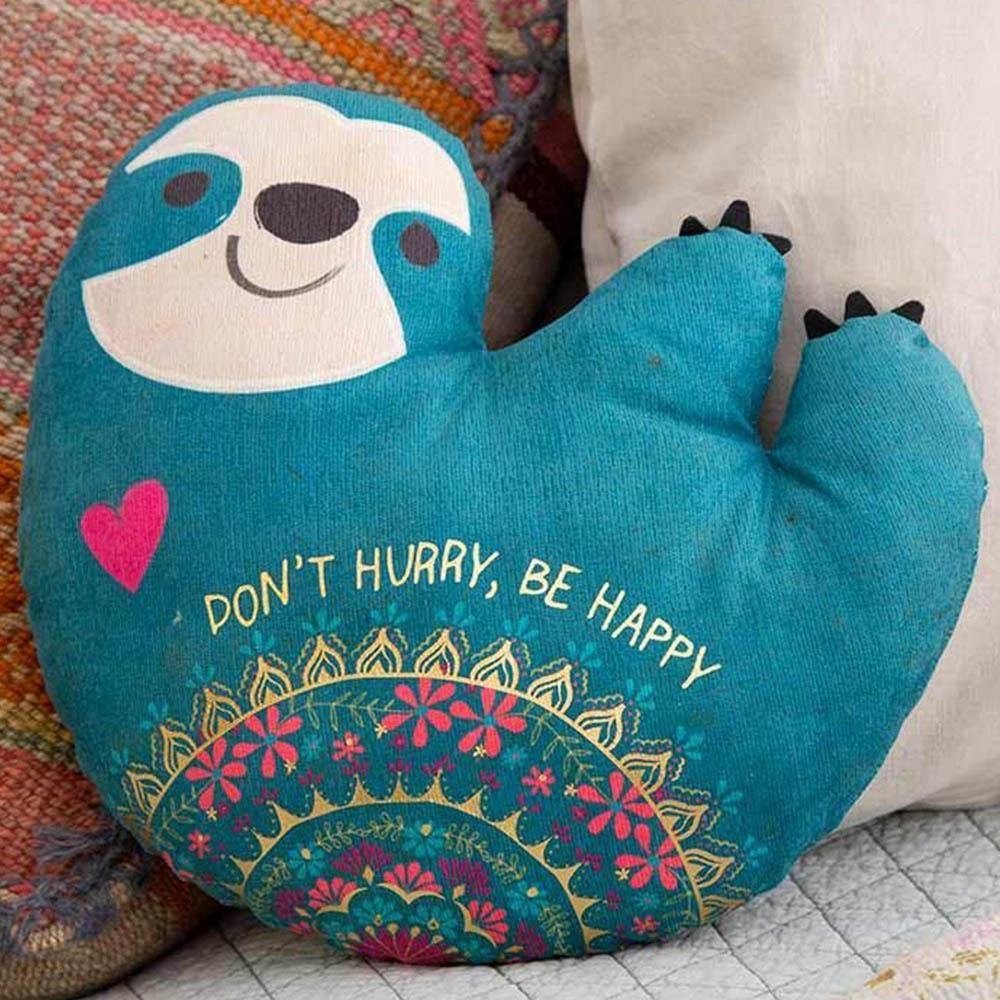 Sloth Happy Pillow - Kitty Hawk Kites Online Store