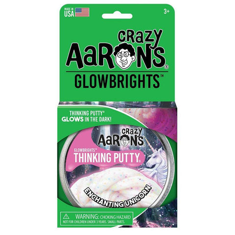Crazy Aaron's Enchanting Unicorn Glow Putty