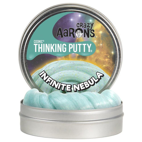Infinite Nebula - Cosmic Glow in the Dark Thinking Putty