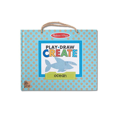 Ocean Play, Draw, Create Reusable Drawing & Magnet Kit by Melissa & Doug - Kitty Hawk Kites Online Store