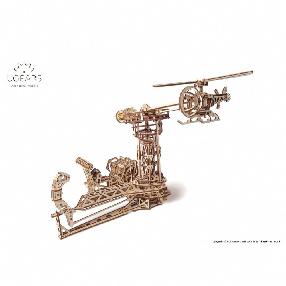 Ugears Aviator Mechanical Model
