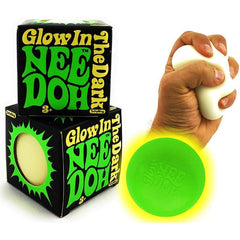 Glow in The Dark NeeDoh Stress Ball - Kitty Hawk Kites Online Store