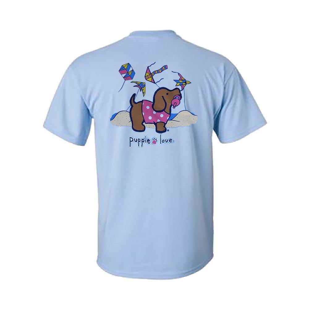 Custom Kite Pup Short Sleeve T-Shirt