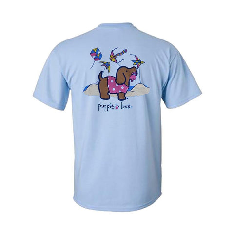 Custom Kite Pup Short Sleeve T-Shirt - Kitty Hawk Kites Online Store