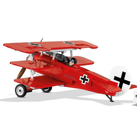 "COBI Historical Collection Fokker DR.1 ""Red Baron"" Plane - Kitty Hawk Kites Online Store"