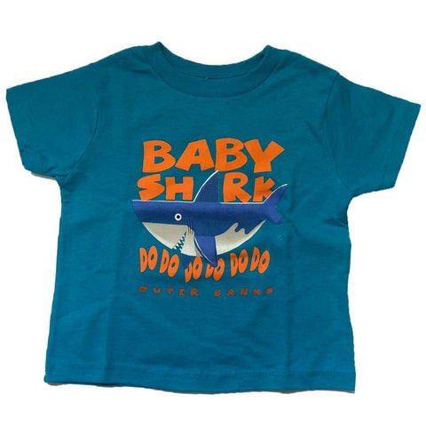 OB Youth Baby Shark Short Sleeve T-Shirt