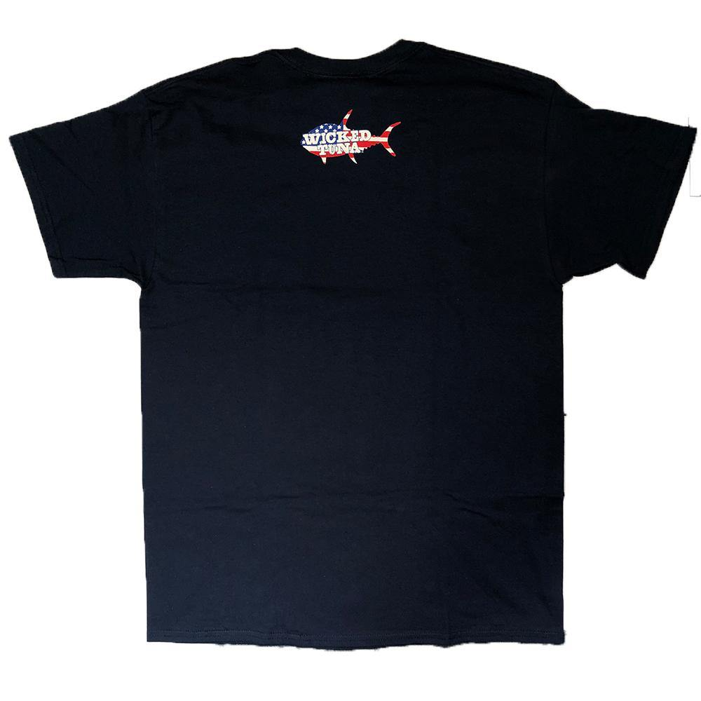 American Flag Wicked Tuna Tee