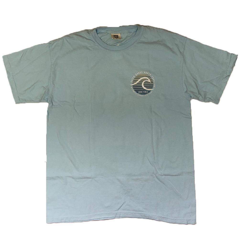 OBX Line Wave Short Sleeve Tee - Kitty Hawk Kites Online Store