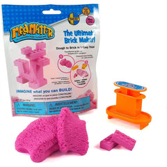 MAD MATTR The Ultimate Brick Maker by Relevant Play, (Pink, 2oz) - Kitty Hawk Kites Online Store