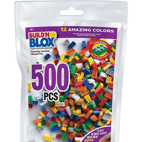 Build 'N Blox Building Bricks (500 piece)