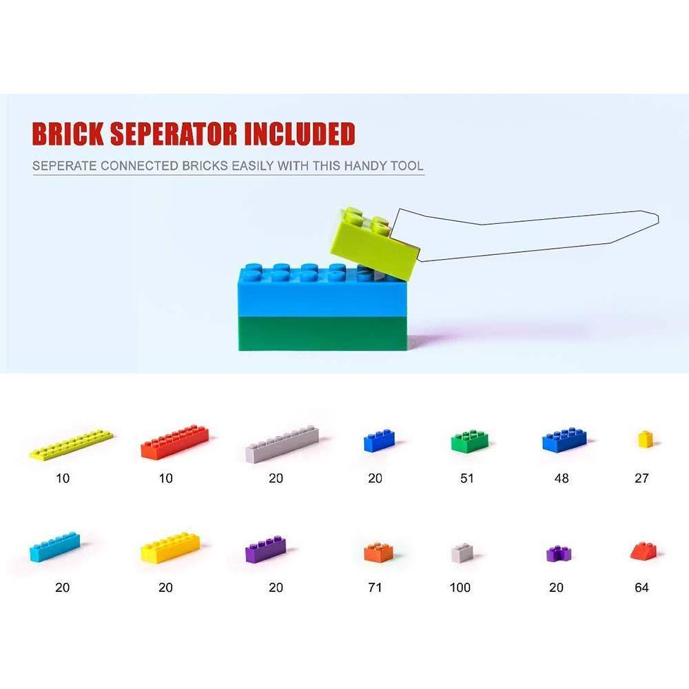 Build 'N Blox Building Bricks (500 piece) - Kitty Hawk Kites Online Store
