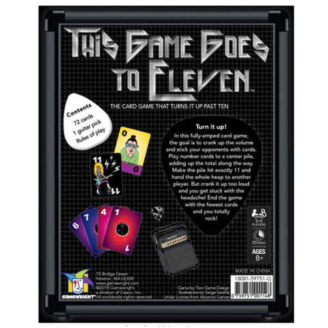 This Game Goes to Eleven - The Card Game That Cranks It Past Ten