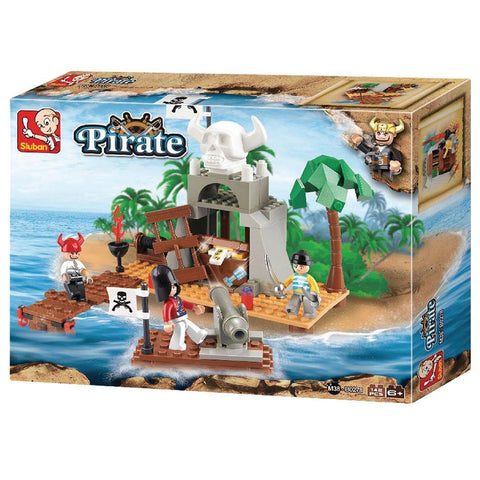 Pirate Treasure Cove 142 Piece Playset