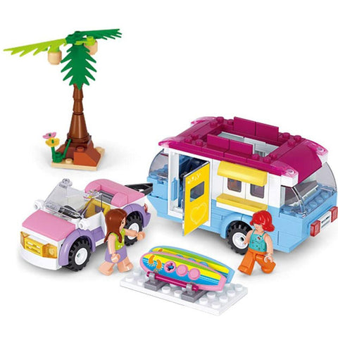 Girls Dream Beach Holiday 272 Piece Playset