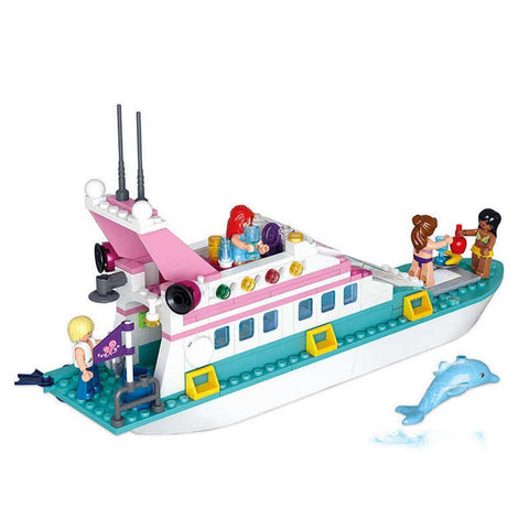 Luxury Yacht 328 Piece Playset - Kitty Hawk Kites Online Store