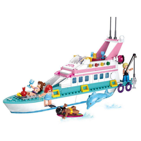 Luxury Yacht 328 Piece Playset