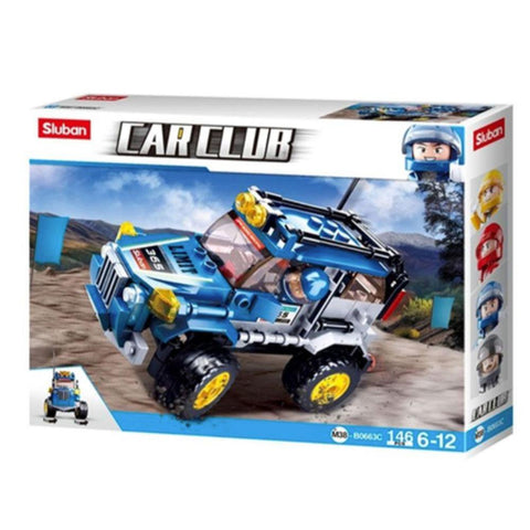 Car Club - Offroad 146 Piece Playset - Kitty Hawk Kites Online Store