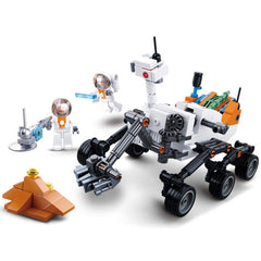 Space Curiosity Rover 288 Piece Playset