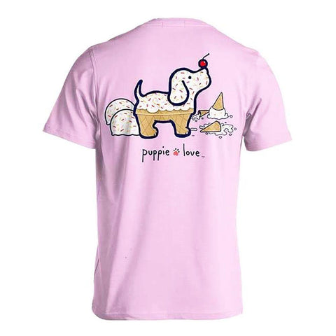 Ice Cream Pup Short Sleeve T-Shirt