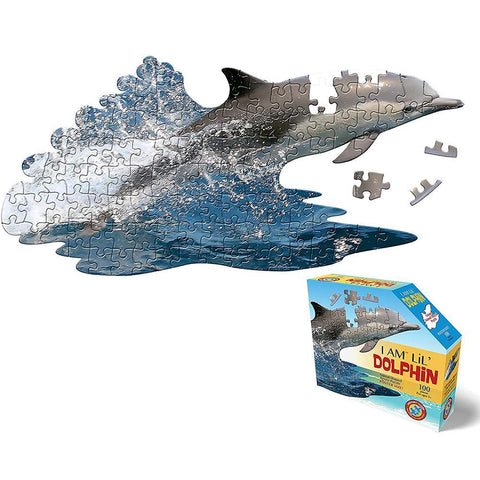 I AM Lil' Dolphin Puzzle - 100 Pieces - Kitty Hawk Kites Online Store