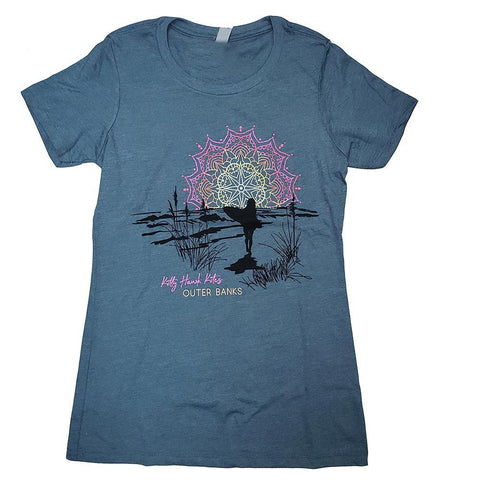 KHK Custom Mandala Surfer Ladies Tee