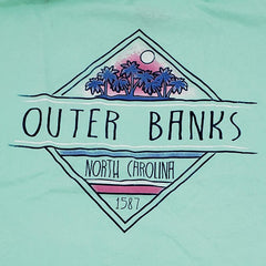OBX Cleverness Palms Tee