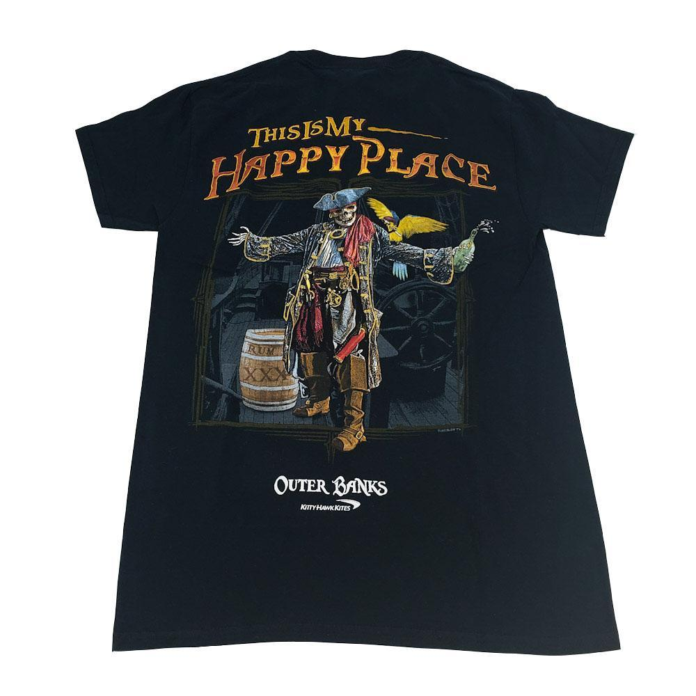 This is My Happy Place Pirate Tee