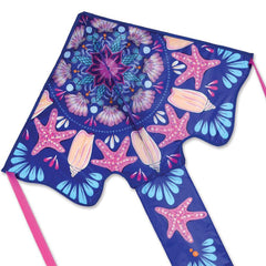 Mermaid Mandala Easy Flyer Kite