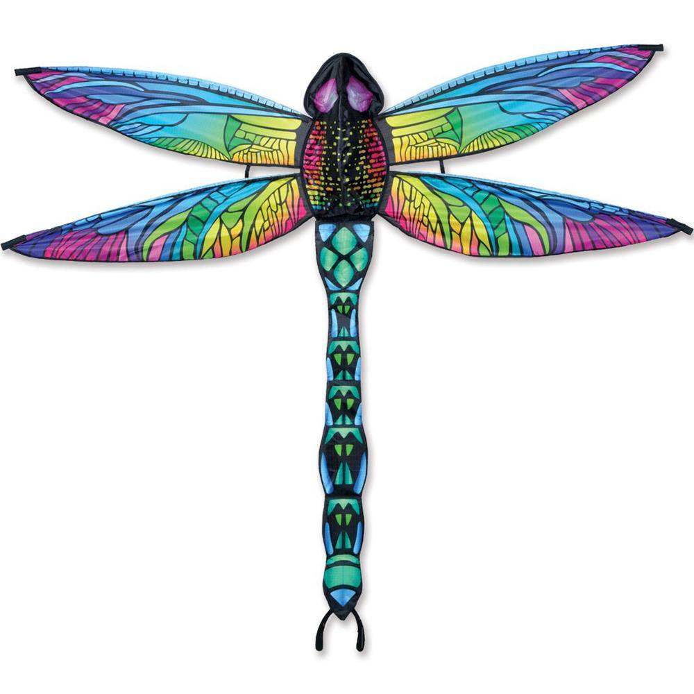 3D Dragonfly Rainbow Kite
