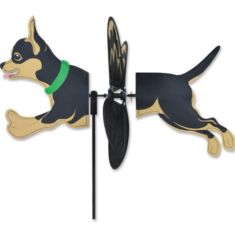 Petite Black and Tan Chihuahua Spinner - Kitty Hawk Kites Online Store