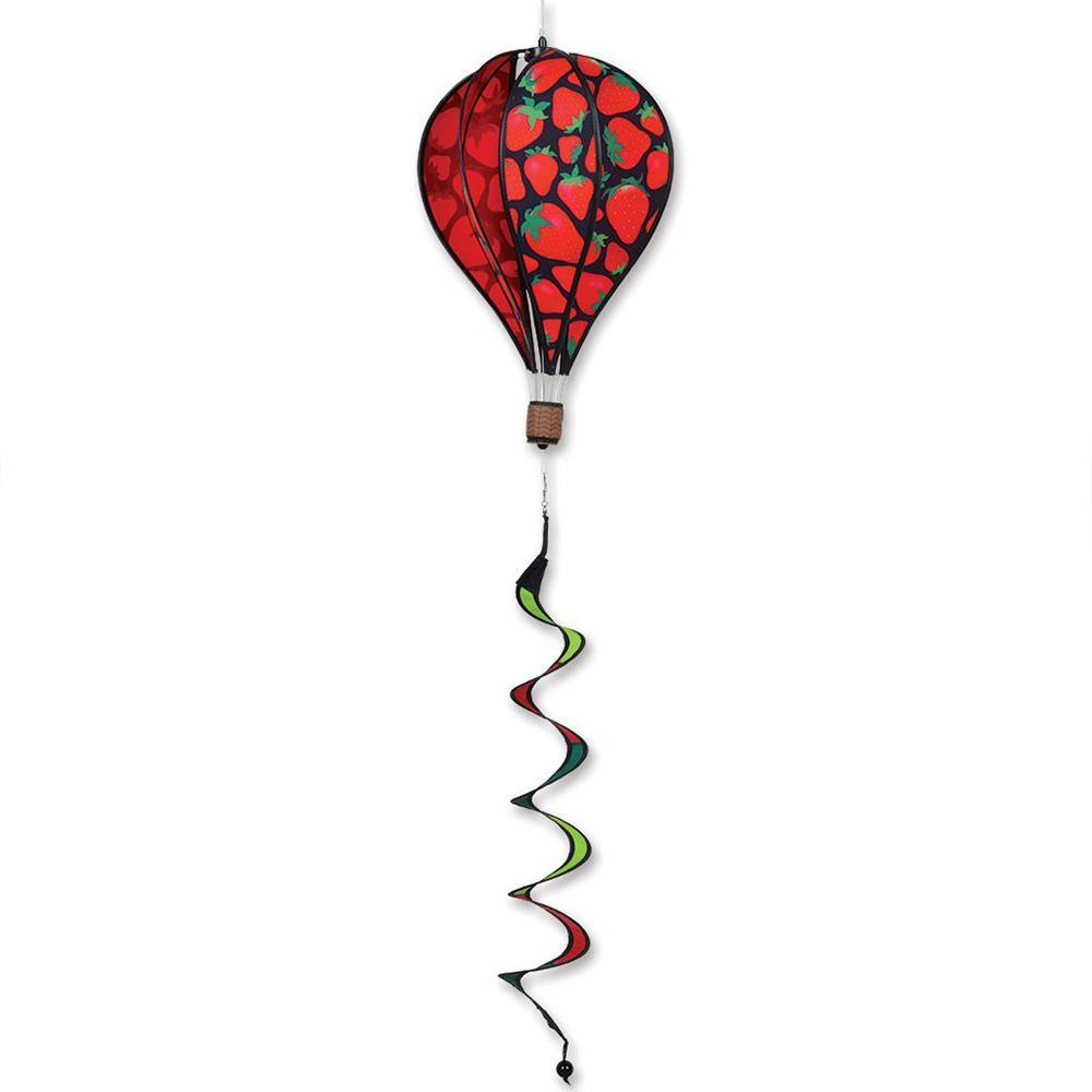 16 Inch Strawberry Hot Air Balloon Spinner