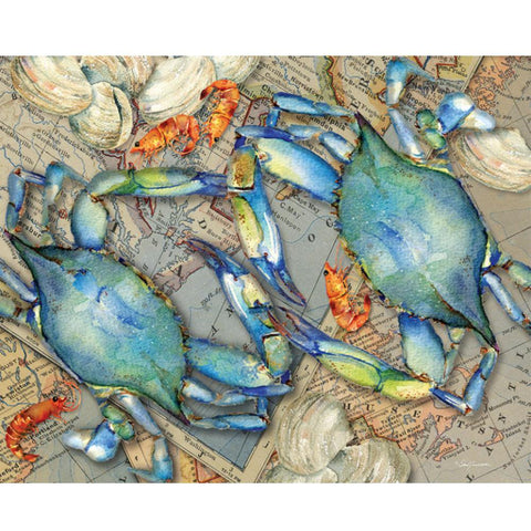 Blue Crab Bounty 1000 Piece Puzzle
