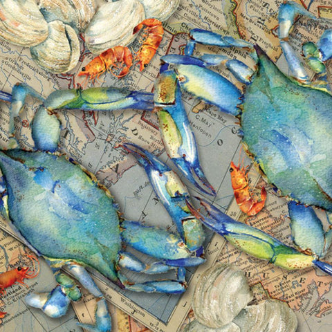 Blue Crab Bounty 1000 Piece Puzzle - Kitty Hawk Kites Online Store