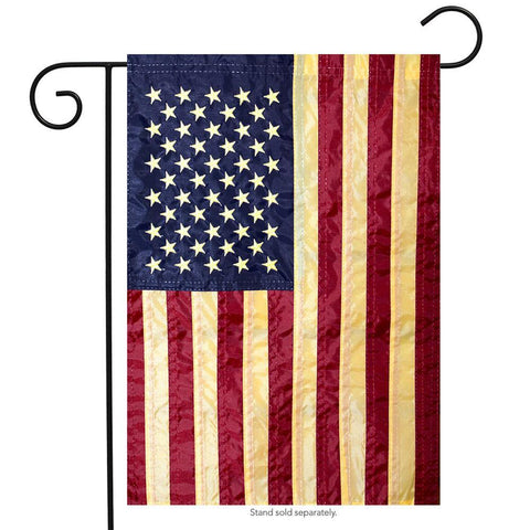 Tea Stained American Garden Flag - Kitty Hawk Kites Online Store