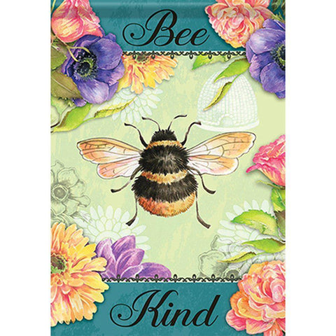 """Bee Kind"" House Flag - Kitty Hawk Kites Online Store"