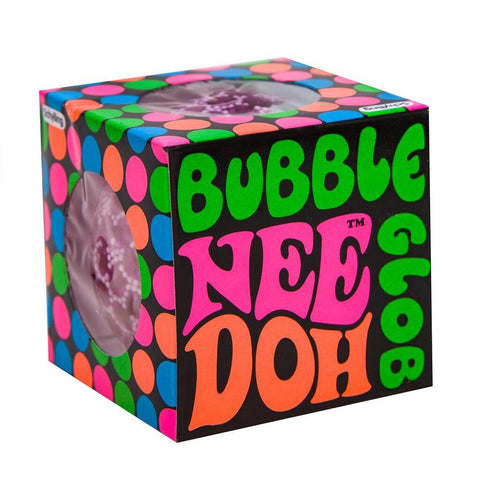 Nee-Doh Bubble Groovy Glob! Squishy, Squeezy, Stretchy Stress Balls