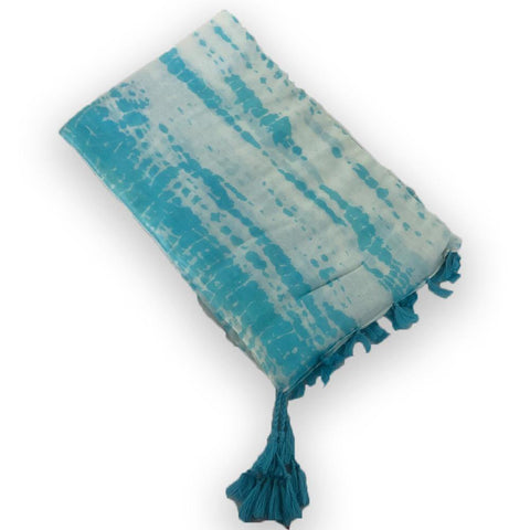 Blue Water Cotton Sarong - Kitty Hawk Kites Online Store