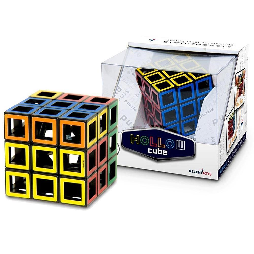 Hollow Brain Teaser Cube by Meffert's