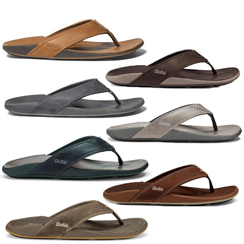 Nui Men's Leather Beach Sandal
