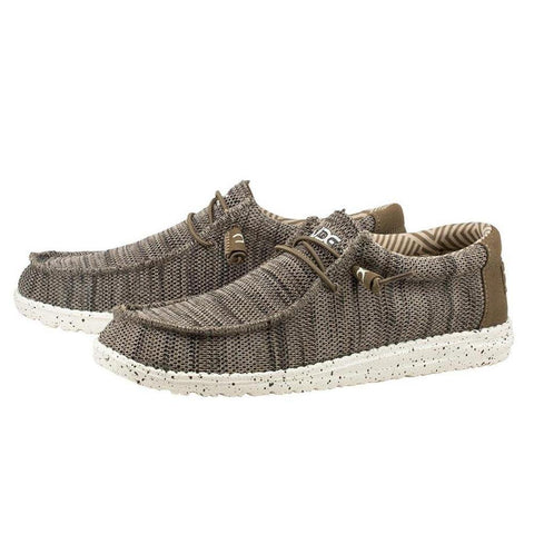 Men's Wally Sox Funk Shoes - Brown