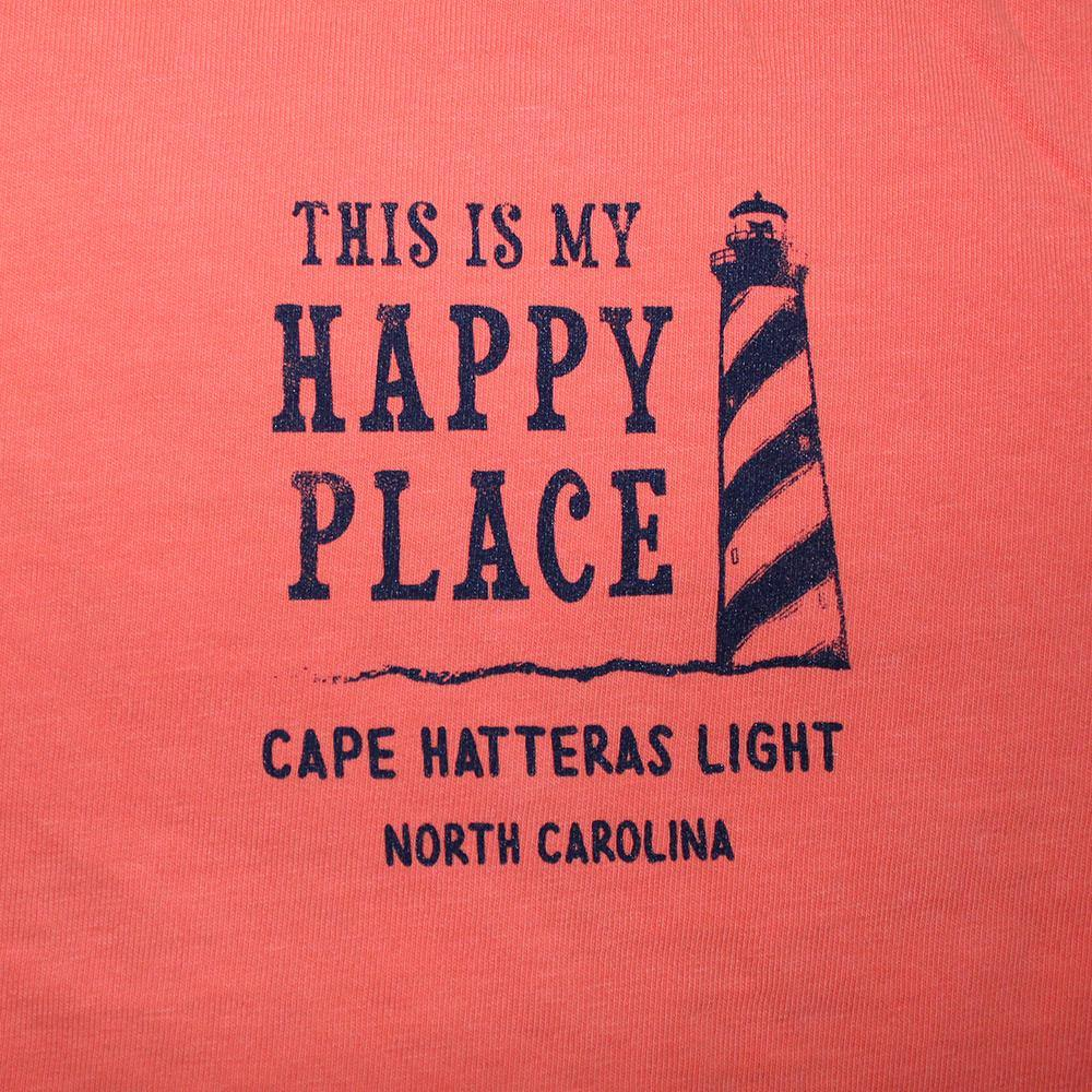 Happy Place Cape Hatteras Lighthouse Tee