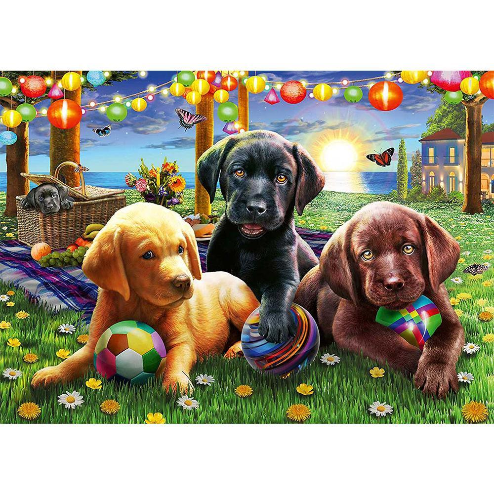 Puppy Picnic Puzzle