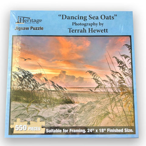 Dancing Sea Oats Puzzle - Kitty Hawk Kites Online Store