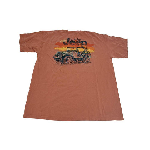 JEEP Stripe Splatter Tee