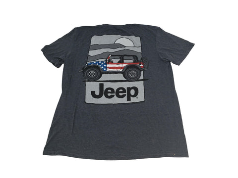 JEEP Flag Wrap USA Tee
