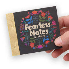Fearless Tiny Happy Notes Book