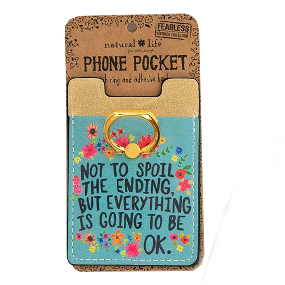 Everything Okay Phone Pocket Ring
