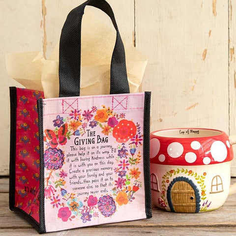 Small Butterfly Giving Bag - Kitty Hawk Kites Online Store