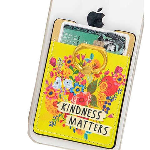 Kindness Floral Phone Pocket Ring - Kitty Hawk Kites Online Store