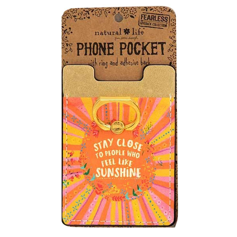Sunshine Phone Pocket Ring